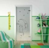 Стеклянные двери серии Fantazy