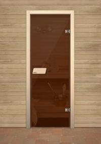 Финская дверь Нарвия Бронза