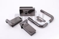 Комплект фурнитуры E (GT) для стеклянной двери Черный никель