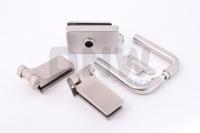 Комплект фурнитуры E (GT) для стеклянной двери Нержавеющая сталь