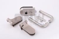 Комплект фурнитуры O (GT) для стеклянной двери Нержавеющая сталь