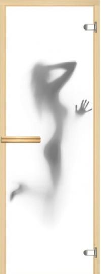 Двери с фотопечатью в сауну АКМА