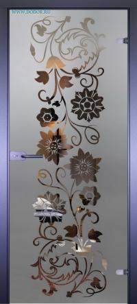 Стеклянная дверь Мирра 0050