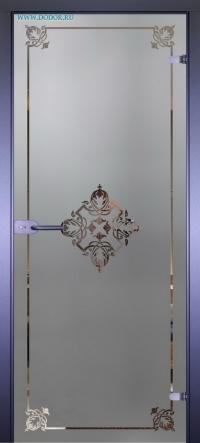 Стеклянная дверь Мирра 0060