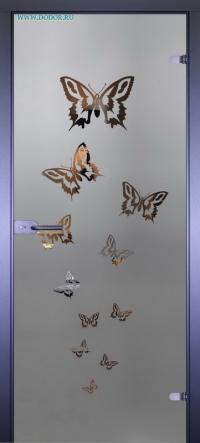 Стеклянная дверь Мирра 0080