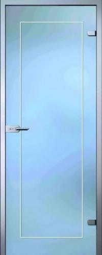 Стеклянная дверь Клара АКМА
