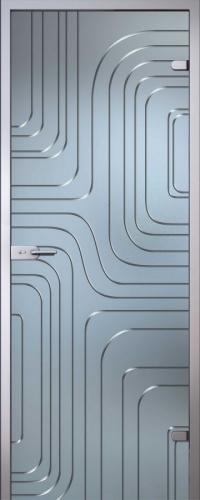 Стеклянная дверь Линда АКМА