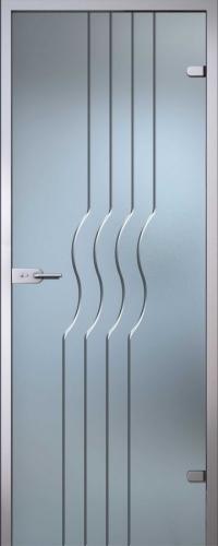 Стеклянная дверь Стелла АКМА