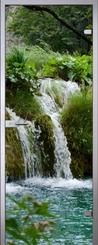 Стеклянная дверь Waterfall АКМА