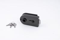Комплект фурнитуры B-R (GT) для стеклянной двери Черный никель