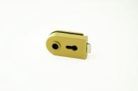 Комплект фурнитуры B-R (GT) для стеклянной двери Золото