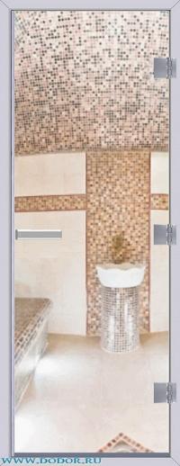 Дверь для сауны Хамам 60G бесцветная