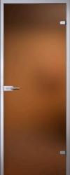 Матовая бронзовая дверь