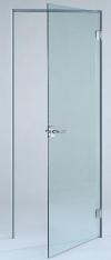 Прозрачная бесцветная дверь